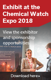 Exhibit at the Chemical Watch Expo 2018