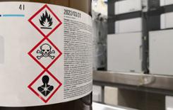 Label-chemicals
