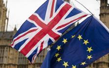 UK EU flags - Brexit